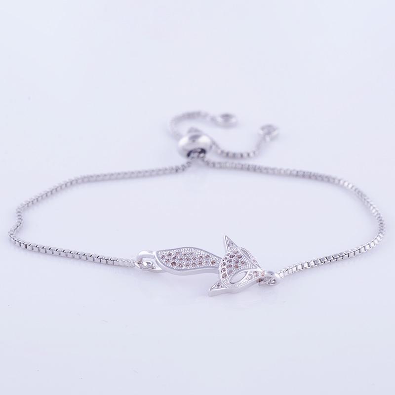 """""""Lovely Square"""" Fox Bracelet 31"""