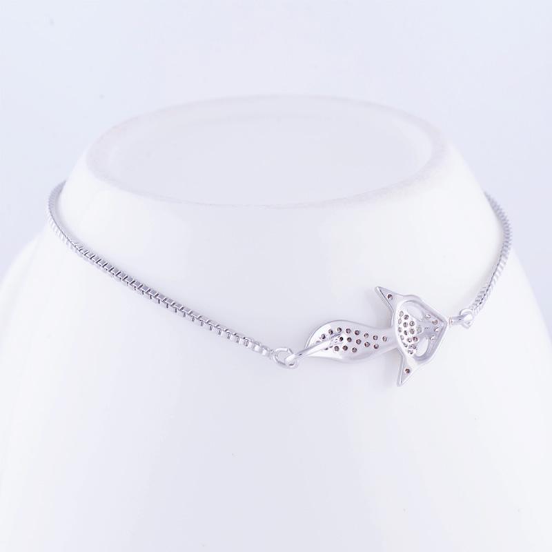 """""""Lovely Square"""" Fox Bracelet 30"""