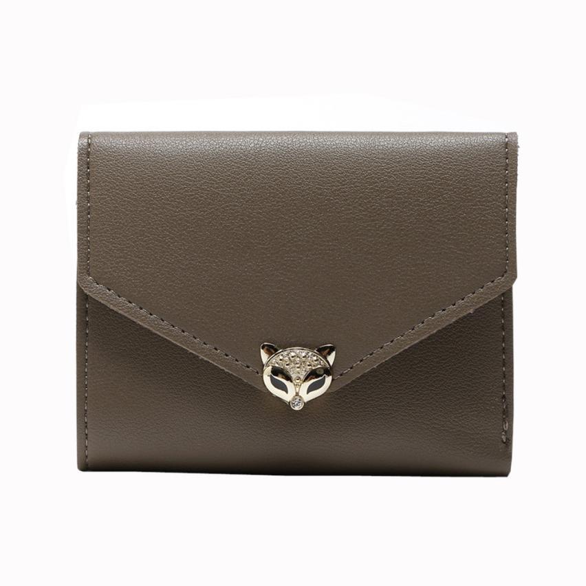 """Foxy"" - Fox Wallet / Short Purse 13"