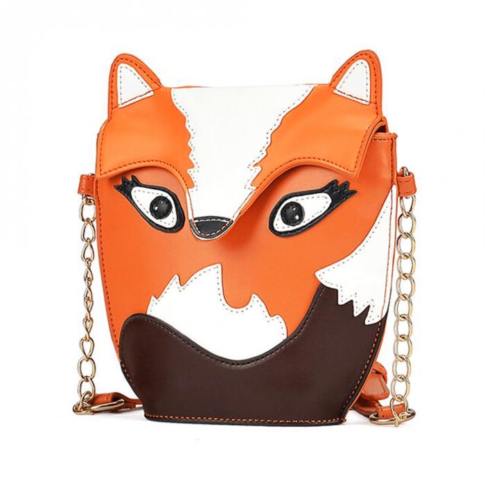 """""""Cartoon"""" - Fox Shoulder Bag 2"""