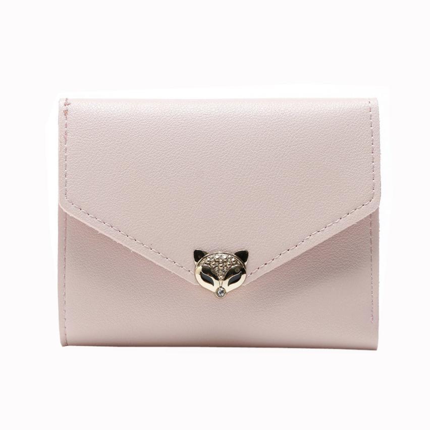 """Foxy"" - Fox Wallet / Short Purse 2"