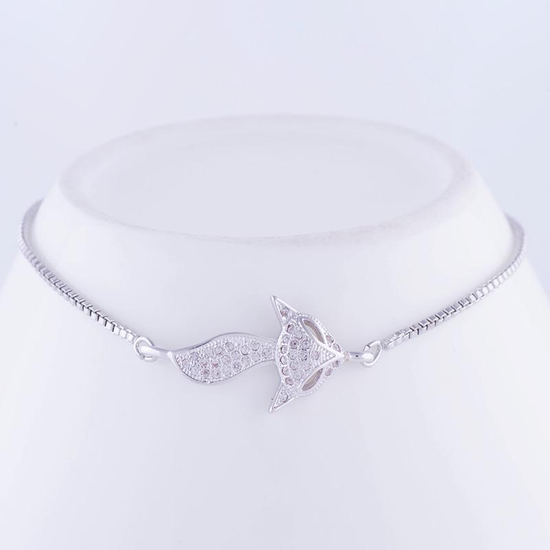 """""""Lovely Square"""" Fox Bracelet 29"""