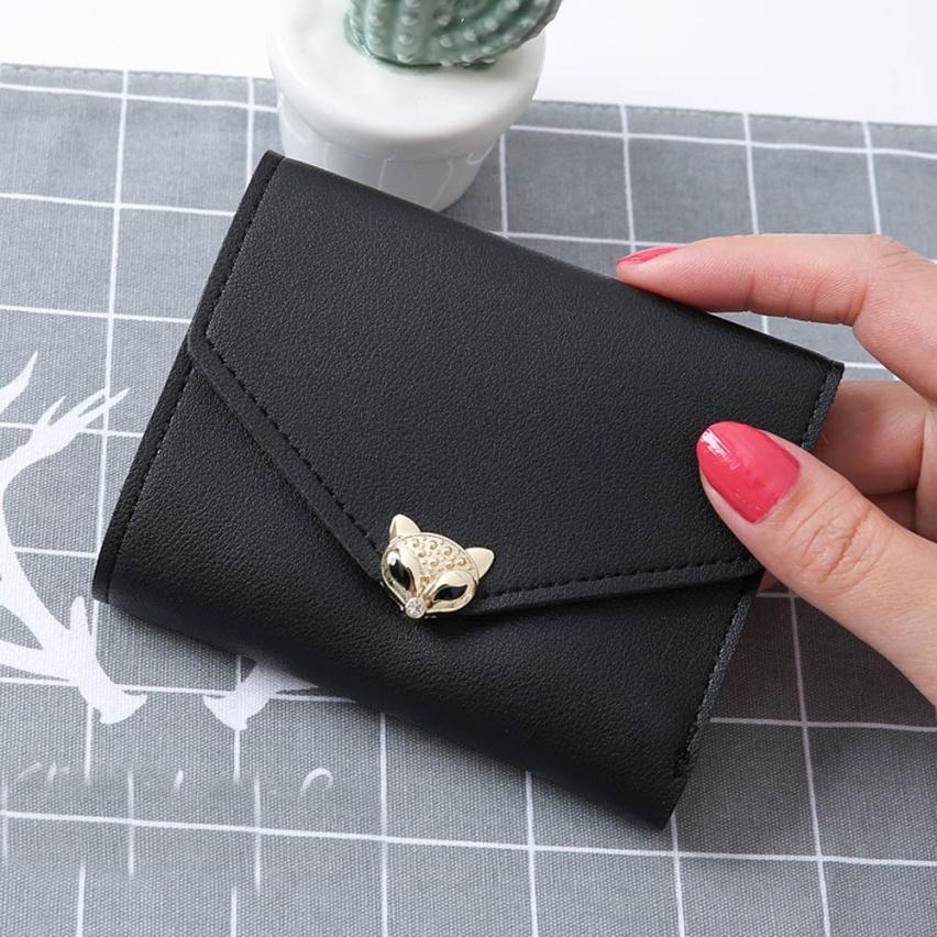 """Foxy"" - Fox Wallet / Short Purse 10"