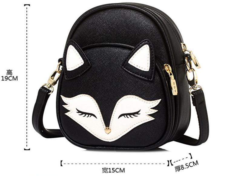 """FoxFace"" - Fox Bag 1"