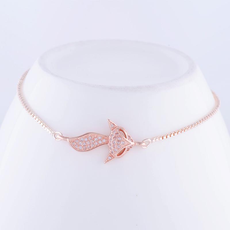 """""""Lovely Square"""" Fox Bracelet 32"""
